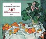 Art: 365 Days of Masterpieces 2018 Desk Calendar (Desk)