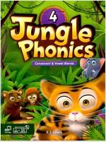 Jungle Phonics 4 (Student Book + mp3 + Class Booster) (Book, MP3 CD including Class Booster)