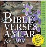 365 Bible Verses-A-Year Page-A-Day Calendar 2018 (Daily)