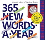 365 New Words-A-Year Page-A-Day Calendar (Daily, 2018)