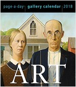Art Page-A-Day Gallery Calendar 2018 (Daily)