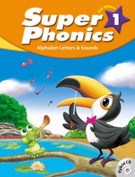 Super Phonics (2ED) 1 Student Book with hybrid CD (Paperback + Hybrid CD, 2nd edition)