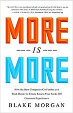 More Is More : How the Best Companies Go Farther and Work Harder to Create Knock-Your-Socks-Off Customer Experiences (Hardcover)