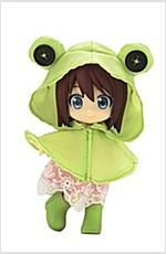 큐포쉬 엑스트라 비오는 날 세트 개구리 (おもちゃ&ホビ-)