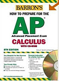 Barrons How To Prepare For The AP Calculus (Paperback, CD-ROM, 8th)