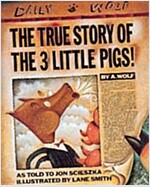 The True Story of the 3 Little Pigs (Paperback)