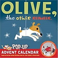 Olive, the Other Reindeer Pop-Up Advent Calendar (Wall, 2008)