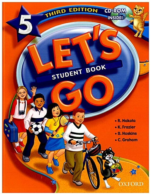 Lets Go: 5: Student Book with CD-ROM Pack (Package)