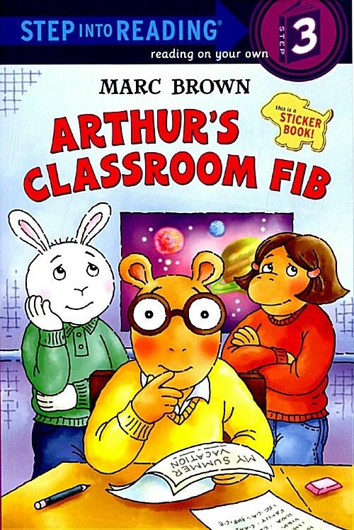 Arthurs Classroom Fib [With Stickers] (Paperback)