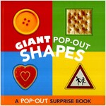 Giant Pop-Out Shapes: A Pop-Out Surprise Book (Hardcover)