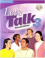 Let's Talk Level 3 Student's Book with Self-study Audio CD (Package, 2 Revised edition)