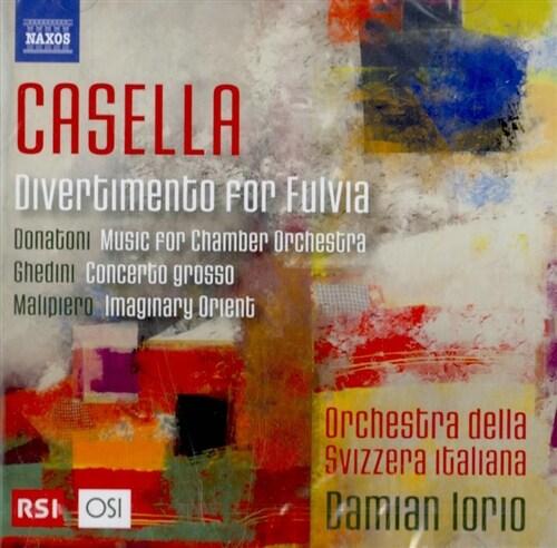 [수입] 20세기 이탈리아 작곡가들의 소편성 오케스트라를 위한 작품집