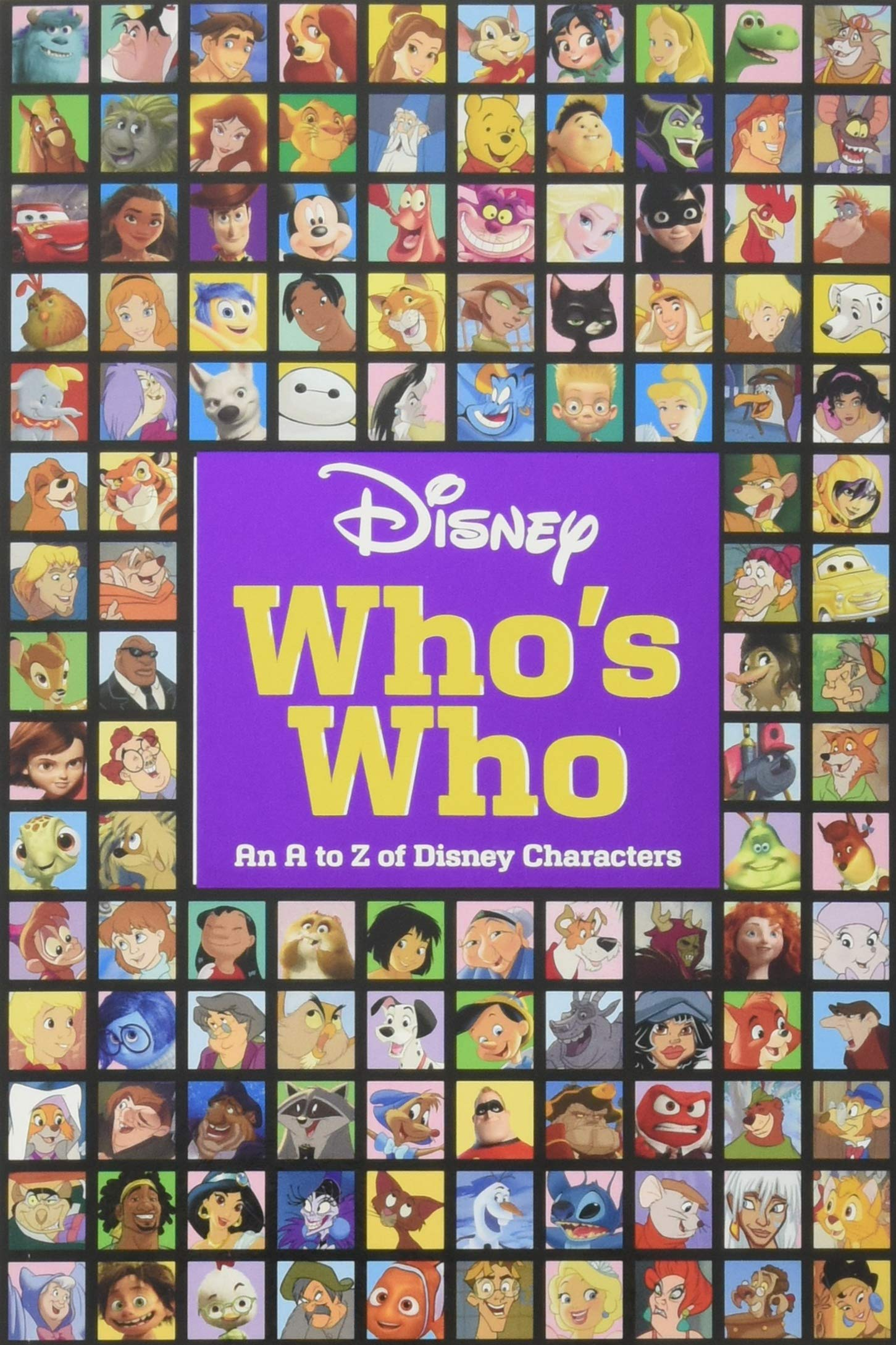 Disney Whos Who: An A to Z of Disney Characters (Paperback)