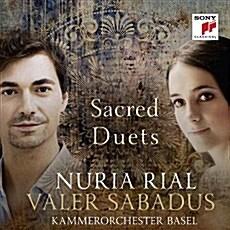[수입] Nuria Rial & Valer Sabadus - 바로크 성가 듀엣곡집