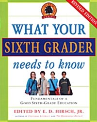 What Your Sixth Grader Needs to Know: Fundamentals of a Good Sixth-Grade Education, Revised Edition (Paperback, Revised)