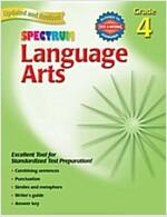 Spectrum Language Arts: Grade 4 (Paperback, Revised)