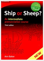 Ship or Sheep? Book and Audio CD Pack : An Intermediate Pronunciation Course (Package, 3 Revised edition)