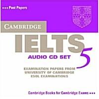 Cambridge IELTS 5 Audio CDs (CD-Audio)