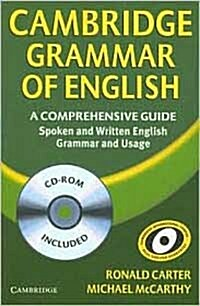 Cambridge Grammar of English Paperback with CD-ROM : A Comprehensive Guide (Package)