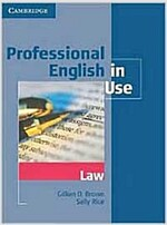 Professional English in Use Law (Paperback)