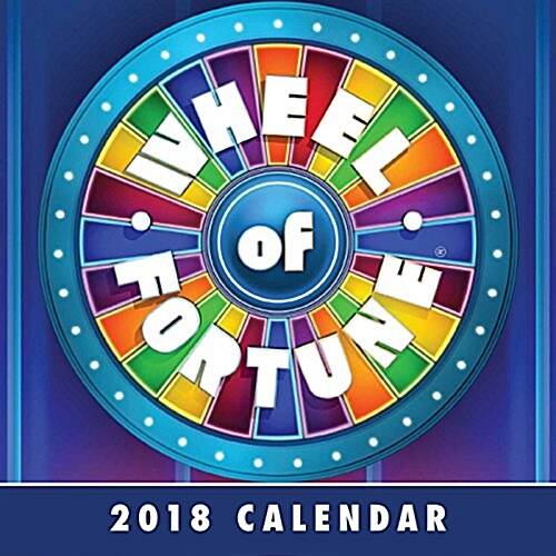Wheel of Fortune 2018 Day-To-Day Calendar (Daily)