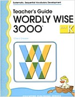 Wordly Wise 3000 : Book K (Teacher's Guide, 2nd Edition)