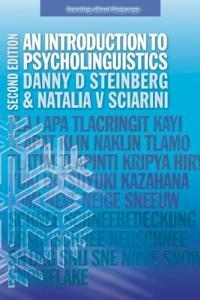 An introduction to psycholinguistics 2nd ed
