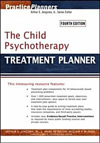 The Child Psychotherapy Treatment Planner (Paperback, 4th)