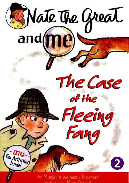 Nate the Great and Me: The Case of the Fleeing Fang (Paperback + CD 1장)