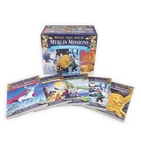 Magic Tree House Merlin Missions #1-25 Boxed Set (Paperback)