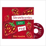 Pictory Set IT-21(HCD) / Strawberries are Red (Hardcover+ Audio CD, Infant & Toddler)