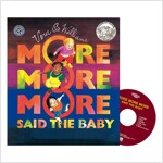 Pictory Set IT-12 / More More More Said the Baby (Paperback, Audio CD, Infant & Toddler)