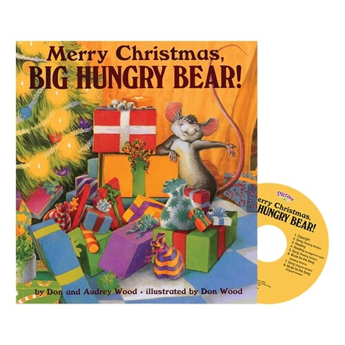 Pictory Set 1-11 / Merry Christmas, Big Hungry Bear (Paperback, Audio CD, Step 1)