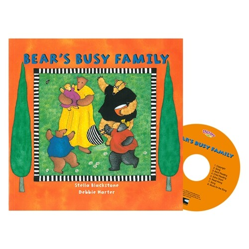 Pictory Set PS-17 / Bears Busy Family (Paperback + Audio CD)