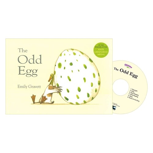 Pictory Set PS-52 / The Odd Egg (Paperback + Audio CD)