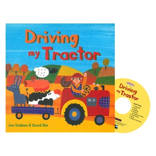 Pictory Set PS-58(HCD) / Driving My Tractor (Hardcover, Hybrid CD, Pre-Step)