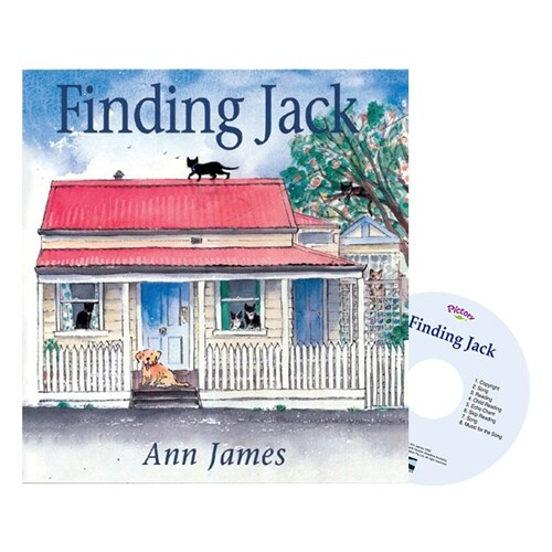 Pictory Set PS-26 / Finding Jack (Paperback + Audio CD)