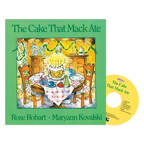Pictory Set PS-50 / The Cake That Mack Ate (Paperback, Audio CD, Pre-Step)