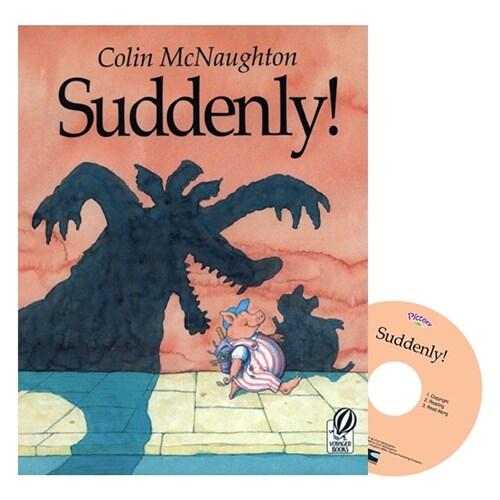 Pictory Set Step 2-01 : Suddenly! (Paperback + Audio CD)