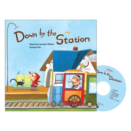 Pictory Set 마더구스 1-02 / Down by the Station (Paperback, Audio CD, Mother Goose)