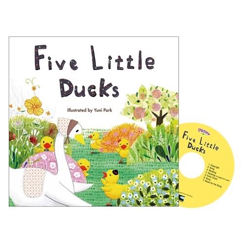 Pictory Set 마더구스 1-07 / Five Little Ducks (Paperback, Audio CD, Mother Goose)
