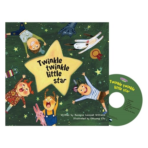Pictory Set 마더구스 1-10 / Twinkle Twinkle Little (Paperback, Audio CD, Mother Goose)