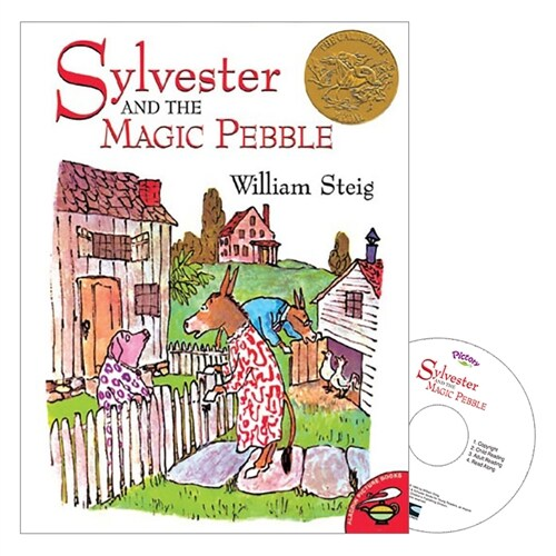 Pictory Set 3-19 / Sylvester and the Magic Pebble (Paperback, Audio CD, Step 3)