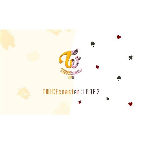 트와이스 - 스페셜 앨범 TWICEcoaster : LANE 2 [커버 2종 중 랜덤발송]