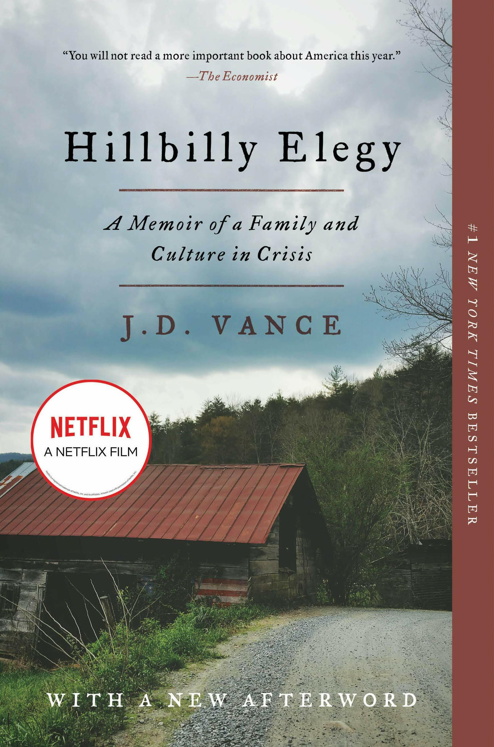 Hillbilly Elegy : A Memoir of a Family and Culture in Crisis (Paperback)
