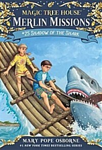 Merlin Mission #25 : Shadow of the Shark (Paperback)