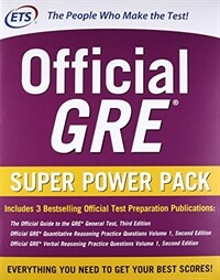 Official GRE Super Power Pack, Second Edition (Paperback, 2)