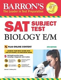 SAT Subject Test Biology E/M with Online Tests (Paperback, 6)