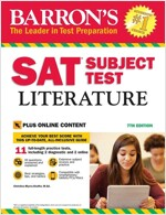 SAT Subject Test Literature with Online Tests (Paperback, 7)