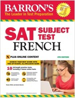 SAT Subject Test French with Online Tests (Paperback, 4)